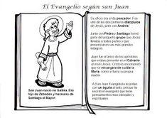 La Catequesis: Conocemos y coloreamos a los Cuatro Evangelistas Comics, Memes, Google, Blog, San Juan, Happy New Year 2016, Kids Learning, Catechism, Sunday School