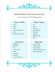 How to Organize Your Dream Wedding » MNinLOVE