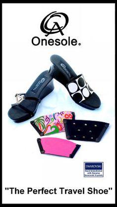 @onesoleshoes  By @dominiquebartee  ~ Original Interchangeable Shoe - Seen on @ABCSharkTankTV   @QVC @LoriGreiner