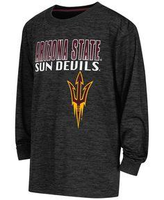 Colosseum Boy's Long-Sleeve Arizona State Sun Devils Cornerback T-Shirt