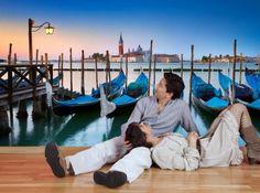 #fototapeta #dekoracja #sciany #wnetrza #Venice #wenecja #romantic #zakochani #gondole Jeśli chcesz w kilka chwil znaleźć się w mieście zakochanych w Wenecji, pośród włoskich gondoli, zamieść na ścianie tą piękną fototapetę :)