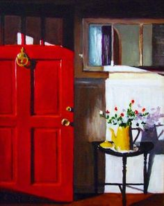 Red Door Painting 3