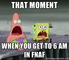 fnaf memes spongebob - Google Search