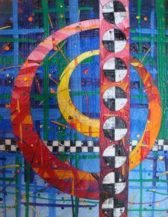 Katie Pasquini Masopust - Stitched Paintings