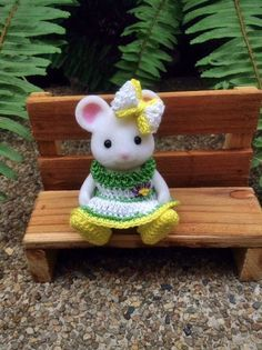 Clothes Set for Daughter Size Sylvanian Families by AmigurumiByMe❤️Sylvanian Families