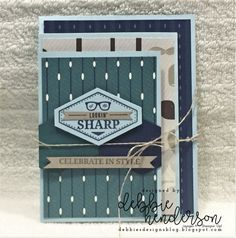 A blog about Stampin' Up! creative projects. I am a Stampin' Up! Independent Demonstrator from Maine, USA. Debbie Henderson, Debbie's Designs