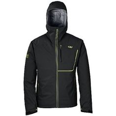 Outdoor Research Men's Axiom Jacket: Sports & Outdoors (black)