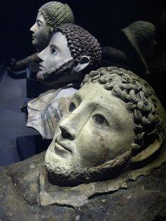 Roman Death Masks