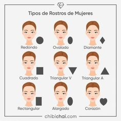 7 Ideas De Belleza Morfologia Del Rostro Tipo De Rostros Curso De Maquillaje