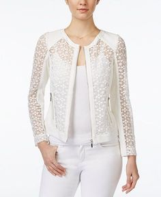 White Lace Blazer to Add to Your Clothes More Charming and Casual Blazer, Blazer Outfits, Blazer Fashion, Casual Outfits, Fashion Outfits, Womens Fashion, Cheap Fashion, Dress Outfits, Dresses