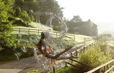 Incredibly Dynamic Steel Wire Fairy Sculptures Dance in the Wind - Sculpture by UK-based artist Robin Wright - My Modern Met