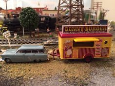 Ho Scale Train Layout, Train Layouts, Model Trains Ho Scale, Good Burger