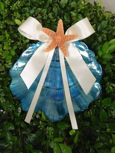 ring bearer pillow alternative for beach by TheCrystalFlower, $45.00