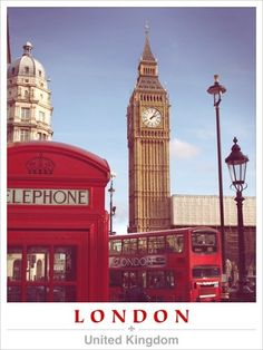 We will see all the iconic sights of London..
