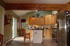 Faux Wood Beams - Box Beams: Elmwood Reclaimed Timber in Peculiar, MO Wood Ceilings, Ceiling Beams, Faux Wood Beams, Reclaimed Timber, Farmhouse Decor, Solid Wood, Home Improvement, New Homes, Rustic