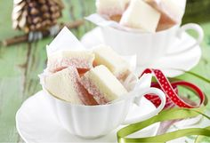 Get the kids involved making this classic coconut ice – perfect for end-of-year teacher gifts.