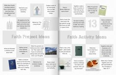 Stand & Shine Magazine: Faith Value Projects & Activities