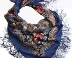 Russian shawl Butterfly dream 1463-12