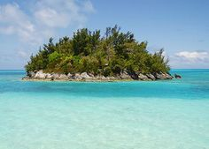 One of the smaller islands of Bermuda