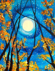 Canvas Painting Tutorials, Easy Canvas Painting, Diy Canvas Art, Daisy Painting, Pastel Art, Art Plastique, Painting Inspiration, Art Lessons, Watercolor Art
