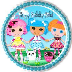 Lalaloopsy Edible Birthday Cake Topper