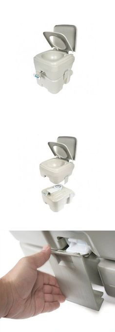 Other Camping Hygiene Accs 181400: Portable Toilet Potty Composting Camping  Rv Fishing Boating Flushable 5