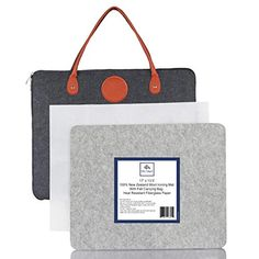 """NuBox Trading Co. 17"""" x 13.5"""" Large Quilters 100% New Zealand Wool Portable Ironing/Pressing Mat with Felt Carrying B... Special Gifts, Great Gifts, Amazon Art, Sewing Stores, New Zealand, Carry On, Sewing Crafts, Personalized Gifts, The 100"""
