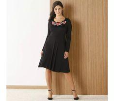 Šaty se vzorem květin | vyprodej-slevy.cz #vyprodejslevy #vyprodejslecycz #vyprodejslevy_cz #moda #damskamoda #xxlmoda #xxl Black, Dresses, Fashion, Vestidos, Moda, Black People, Fasion, Dress, Gowns
