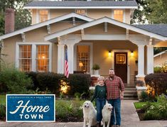 """Erin and Ben Napier Tell What It Was Like to Film the Pilot for """"Home Town"""" on HGTV - Hooked on Houses"""