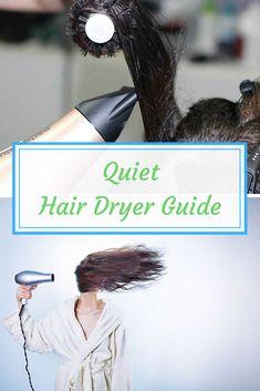 5 Best Quiet Hair Dryers - Turn Down The Noise! Hair Dryer Storage, Hair Meme, Blow Hair, Natural Hair Types, Best Hair Dryer, How To Curl Your Hair, Fine Hair, Diy Hairstyles, Hair Hacks