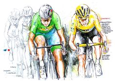 Peter Sagan and Chris Froome