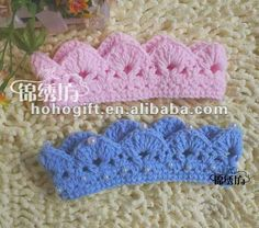 Newborn Crochet Princess Crown, Tiara , Headband