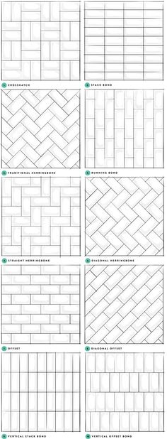 Subway Tile Designs Inspiration   A Beautiful Mess   Bloglovin'