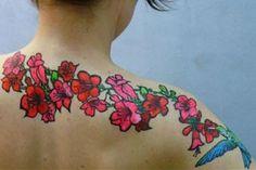 Tatouage à l'encre australienne sur Paris 10 ème. Un tatouage d'une durée de vie d'au moins 5 à 6 jours.