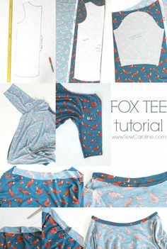 Fox Tee Tutorial