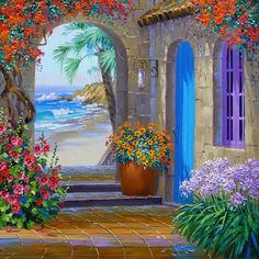 coastal painting images - Google Search