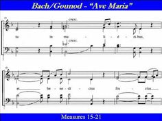 Bach-Gounod-Soprano-Ave Maria-Score.wmv - YouTube