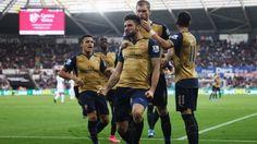 [Thể thao] Đè bẹp Swansea 3-0 Arsenal tiến sát ngôi đầu bảng