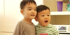 """Da Eul and Daebak forge aclose friendship! The upcoming May 8 episode of the popular KBS variety show """"The Return of Superman"""" is titled """"Daddy Needs Daddy Too."""" On this episode, Lee Dong Gook's son Daebak goes to visit Lee Beom Soo and the """"SoDa"""" siblings, where hebecomes fast f..."""