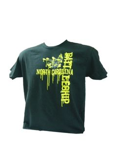 Show your Battleship pride with our Paintball Drip t-shirt! Black shirt available in Neon Green or Neon Yellow paintball drip print. 100% cotton, made in the USA.