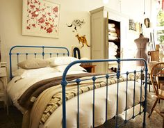 Scout House - Iron Bed, Wrought Iron Bed, Scout House Iron Bed, Scout Bed, Scout House Bed