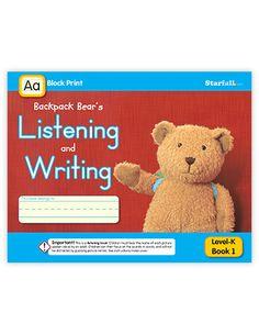 Listening & Writing Projectable - teach.starfall.com