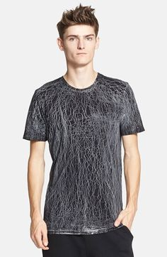 Men's Drifter 'Blockade' Paint Splatter T-Shirt