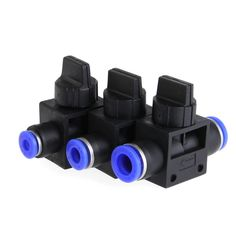 Home Improvement Pneumatic Air 2 Way Quick Fittings Push Connector Tube Hose Plastic 4mm 6mm 8mm Pneumatic Parts YX# #shoes, #jewelry, #women, #men, #hats, #watches, #belts