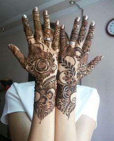 Khafif Mehndi Design, Floral Henna Designs, Back Hand Mehndi Designs, Mehndi Designs Book, Mehndi Designs 2018, Modern Mehndi Designs, Mehndi Design Photos, Dulhan Mehndi Designs, Mehndi Designs For Hands