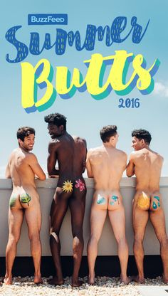 We Painted Guys' Butts For Summer And This Is What Happened Taylor Miller / Jenny Chang for BuzzFeed
