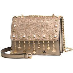 8c03a9134014 Bling Chains Rivets Tassel Mini Bag - GirlWithBag