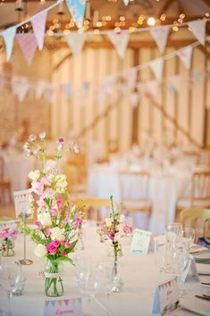 Phil and Sophie's beautiful barn wedding / Photography By Vicki