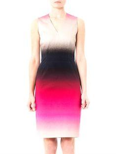 Jonathan Saunders Romina ombre-print dress