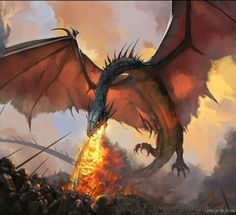 ~Balerion by Paolo Puggioni~